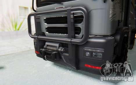 GTA 5 HVY Brickade IVF для GTA San Andreas вид сбоку