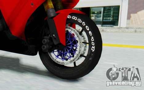 Yamaha YZF-R1 для GTA San Andreas вид сзади