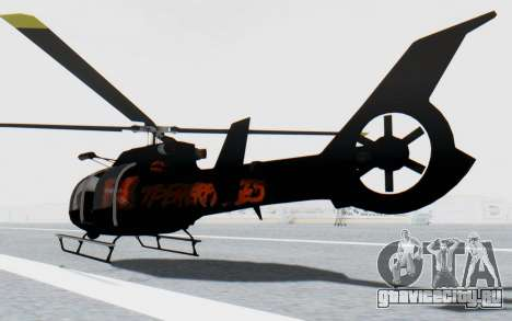 GTA 5 Maibatsu Frogger Trevor для GTA San Andreas вид слева
