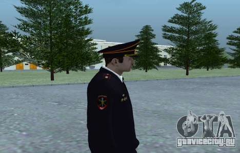 Генерал МВД для GTA San Andreas третий скриншот