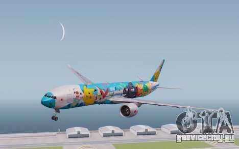 Boeing 777-300ER ZK-OKR для GTA San Andreas