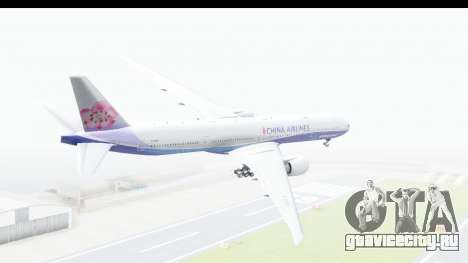 Boeing 777-300ER China Airlines Dreamliner для GTA San Andreas вид слева