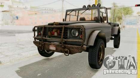 GTA 5 Canis Bodhi Trevor для GTA San Andreas