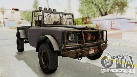GTA 5 Canis Bodhi Trevor для GTA San Andreas вид справа