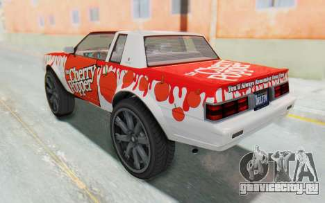 GTA 5 Willard Faction Custom Donk v3 для GTA San Andreas вид сбоку