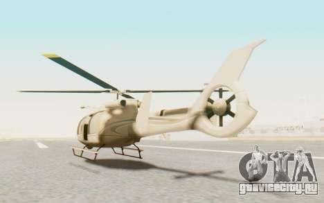 GTA 5 Maibatsu Frogger Civilian для GTA San Andreas вид слева