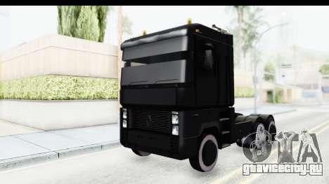Renault Magnum TopGear для GTA San Andreas