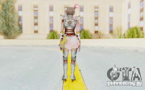 Dynasty Warriors 8 - Lu Lingqi v2 для GTA San Andreas третий скриншот