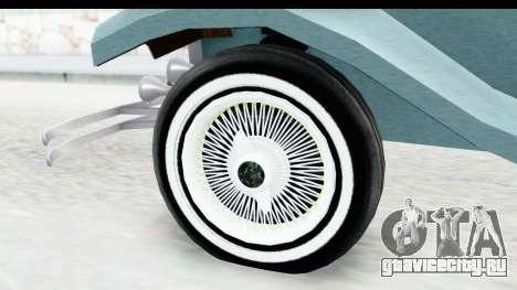 Unique V16 Fordor для GTA San Andreas вид сзади