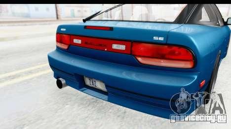 Nissan 240SX 1989 v2 для GTA San Andreas вид сбоку