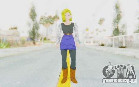 Dragon Ball Xenoverse Android 18 No Jacket для GTA San Andreas второй скриншот