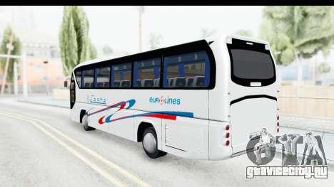 Neoplan Lasta Bus для GTA San Andreas вид слева