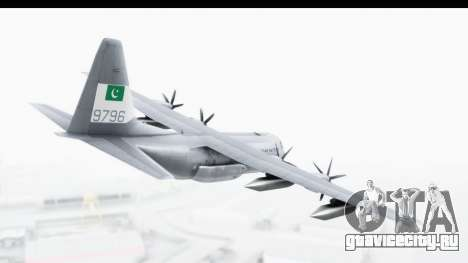 C-130 Pakistan для GTA San Andreas вид справа