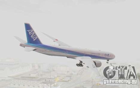 Boeing 777-300ER ANA JA735A для GTA San Andreas вид слева