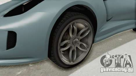 GTA 5 Grotti Bestia GTS v2 SA Lights для GTA San Andreas вид сзади
