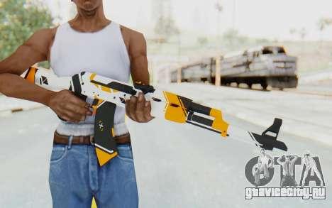 CS:GO - AK-47 Asiimov для GTA San Andreas третий скриншот