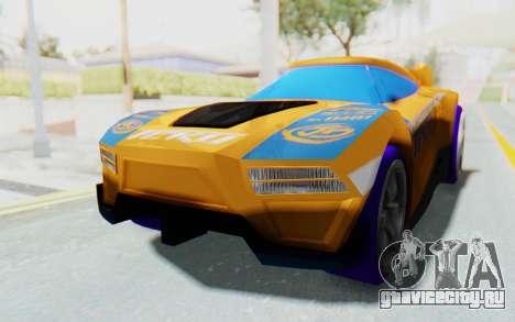 Hot Wheels AcceleRacers 4 для GTA San Andreas