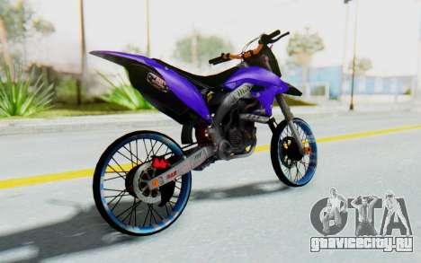 Kawasaki KLX150S Thailock Style для GTA San Andreas вид слева