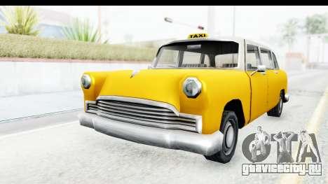 Cabbie London для GTA San Andreas вид справа