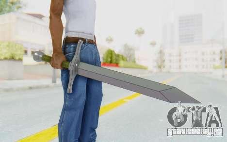 Trunks Del Futuro Katana для GTA San Andreas