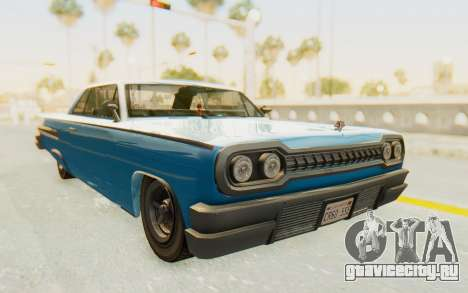 GTA 5 Declasse Voodoo PJ для GTA San Andreas вид справа