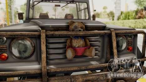 GTA 5 Canis Bodhi Trevor для GTA San Andreas вид сзади