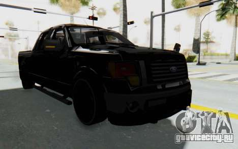 Ford F-150 JDM для GTA San Andreas вид справа