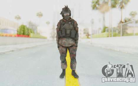 COD MW2 Russian Paratrooper v1 для GTA San Andreas второй скриншот
