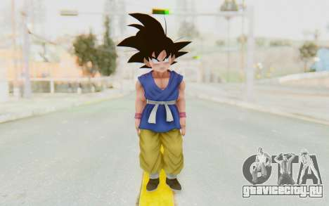 Dragon Ball Xenoverse Goku Kid GT SJ для GTA San Andreas второй скриншот