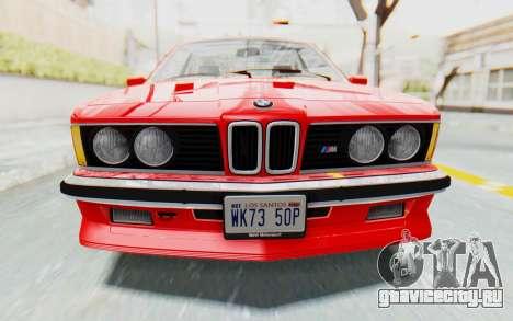BMW M635 CSi (E24) 1984 IVF PJ2 для GTA San Andreas вид сбоку