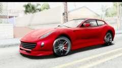 GTA 5 Grotti Bestia GTS IVF для GTA San Andreas