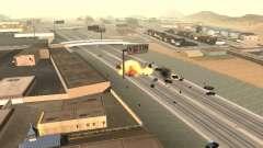 Взрыв машин