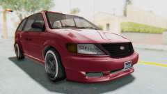 GTA 5 Vapid Minivan Custom without Hydro