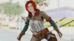 The Witcher 3 - Triss Merigold WildHunt Outfit для GTA San Andreas