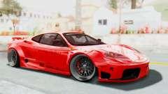 Ferrari 360 Modena Liberty Walk LB Perfomance v2 для GTA San Andreas