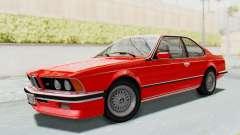 BMW M635 CSi (E24) 1984 IVF PJ2 для GTA San Andreas