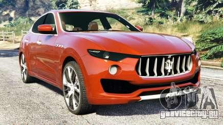 Maserati Levante 2017 для GTA 5