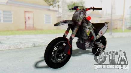 Kawasaki KX125 Supermoto v2 High Modif для GTA San Andreas