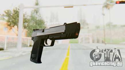HK USP 45 Chrome для GTA San Andreas