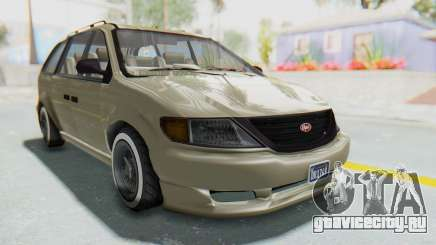 GTA 5 Vapid Minivan Custom without Hydro IVF для GTA San Andreas