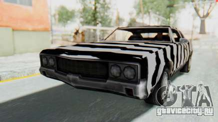 White Zebra Sabre Turbo для GTA San Andreas