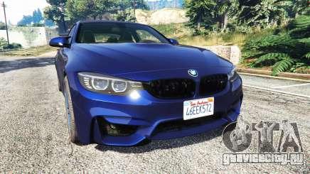 BMW M4 2015 v0.01 для GTA 5