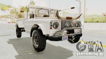 GTA 5 Canis Bodhi для GTA San Andreas