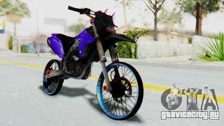 Kawasaki KLX150S Thailock Style для GTA San Andreas