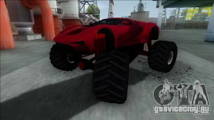 GTA V Vapid FMJ Monster Truck для GTA San Andreas