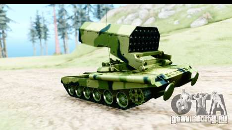TOS-1A для GTA San Andreas вид слева