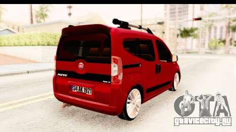 Fiat Fiorino v2 для GTA San Andreas вид слева
