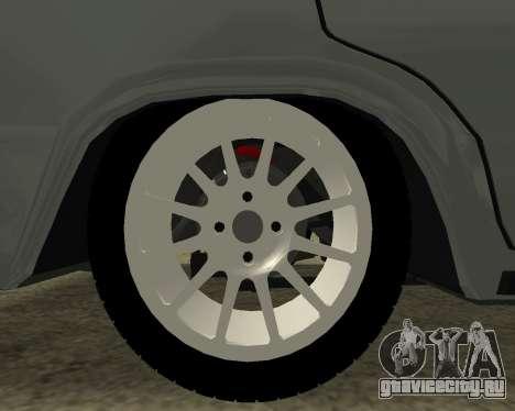 ВАЗ 2106 Armenian для GTA San Andreas двигатель