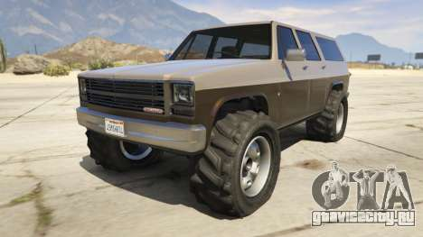 Off-roading Rancher для GTA 5