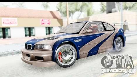 NFS Carbon - BMW M3 GTR для GTA San Andreas